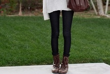 Black Skinny Jeans Outfits / by Match Clothes Colors