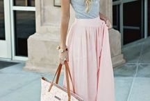 Blush, powder pink and other lovely shades