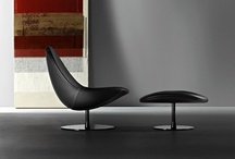 Dolce Vita - Design by Stefano Bigi  / A lofty expression of design and advanced technology. An armchair and pouf which show off great craftsmanship.