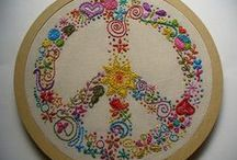EMBROIDERY & CROSS STITCH / by Gypsy Stitches