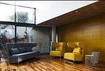 """Mrs Buffy - Design Paolo Martinig / An ideal sofa and armchair for """"creating community"""" within large areas. The possible combinations are numerous.   Poltrona e divano ideale per """"creare comunità"""" all'interno di grandi aree. Numerose le possibili soluzioni compositive."""