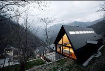 DESIGN A Frame House  / A-Frame