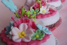EYE CANDY Pink and Aqua / Pretty bits of Aqua and Pink