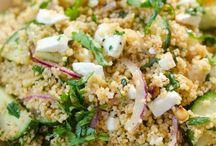 Quinoa en couscous