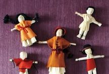 TINY PEOPLE / by Gypsy Stitches