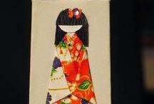 I <3 chiyogami dolls / Tutorials & ideas for washi chiyogami paper dolls creations