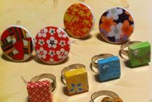 MrWashiSan japan paper jewellery / my own creations with washi paper