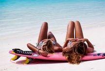 VNDA/Sun & Sand / #sunshine #beach #babes #vacation #vibes #california #australia #surf #waves
