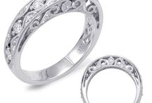Women's Wedding Bands / Enhance the beauty of your engagement ring by pairing it with the perfect wedding band. Browse through our designer's collections and we're sure you'll find the right match for you! Need to see it in person to know for sure? Go to our website and request an appointment so we can make sure you're happy for years to come. Remember fellas, happy wife = happy life <3