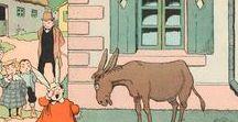 L'âne, le cheval, la vache...