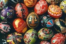 Pysanka. Ukrainian Easter Egg.