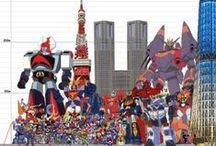 Robots Mech Manga Anime / Childhood Robots Mech Manga Anime