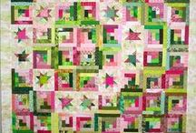 LOG CABIN QUILTS / Quilting at its best, use up all of those scraps and make a beautiful Quilt.