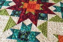 STAR QUILTS / Star Quilts, a wonderful quilting experience.  Make a Star Quilt for the Star in your life.