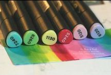 MARKERS & PRODUCTS / Our range of markers and products.