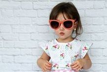 Retro Baby Style / The nostalgic look for your baby. Cute clothing with that air of yesterday.