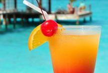 Tropical Food & Drink / Taste fruit, savour wine, enjoy friendship, love and life