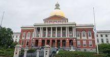 Boston / Algunos de los mejores lugares se pueden visitar en Boston, incluido su famoso recorrido The Freedom trail.