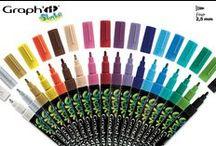GRAPH'IT SHAKE - MARQUEURS PEINTURE / GRAPH'IT SHAKE, les marqueurs peinture à encre pigmentée pour tous et applicable à tous supports ! Graphit-marker.com