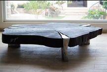 MESAS DE MADERA Y ALUMINIO FUNDIDO. Wooden tables and Cast Aluminium /  Somos una empresa familiar con más de 28 años de experiencia en la elaboración de modelaje, moldeo y 20 años en el arte de la fundición artística en bronce utilizando la técnica de fundición a la cera perdida.