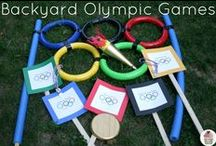 Olympics Fun ! / Enjoy the Olympic Games from home with these family-friendly recipe, craft and activity ideas!