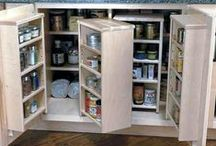 """Top Kitchen Storage Cabinets / Functional and attractive, kitchen storage solutions organize cabinetry, control clutter, maximize space and make your kitchen work smarter for you. With 200+ options available, we've narrowed the list down to these must-haves. Presenting, the """"15 Best"""" Kitchen Storage Cabinets!"""