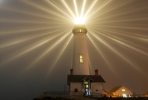 Lighthouses / Lighthouses offer much hope. They offer refuge and sanctuary to struggling seamen. As does God.