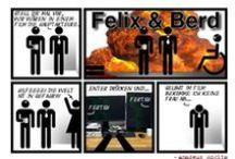 Felix und Berd / Mein Webcomic, auch erreichbar unter felix-und-berd.de