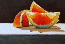 Zátiší Still life / Inspirace pro malování zátiší