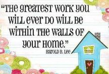 "Quote{able} / Quotes about home decor, design, and what ""home"" really means underneath it all."