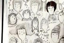 Klikyháky a čmáranice / Doodling
