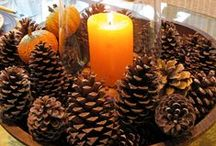 Holiday Decor - Fall/Thanksgiving / How to decorate for the holidays!