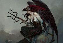 Brom / Sci-fi/ fantasy artist