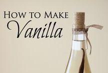DIY Flavored Extracts/spices / Oppskrifter på forskjellig ekstrakter