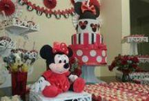 Decoração Minnie Vermelha / Festa da Minnie
