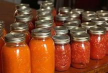 FOOD - canning, freezing and dehydrating