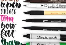 Calligraphy // Pens