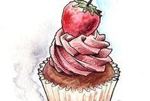 Ilustrações - Food
