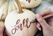 •●• Fall DIY Projects •●•
