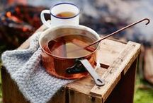 •●• Hot Apple Cider •●• / Hot apple cider has never tasted (or looked!) this good. Like what you see? For more recipes & ideas stop by My Bella Villa on Facebook & Tumblr!