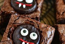 •●• Halloween Desserts •●• / Halloween desserts have never tasted (or looked!) this ghoulishly good. Like what you see? For more recipes & ideas stop by My Bella Villa on Facebook & Tumblr!