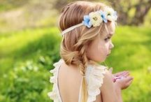 •●• Girls' Hairstyles •●• / Girls' hairstyles for little ladies: braids, buns, fishtails, and more.