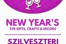 New Year's Eve party decors & crafts (DIY) / Szilveszteri kreatív ötletek és dekorációk / New Years crafts & DIY party decors! For more craft tutorials visit our site: http://www.mindy.hu/en ◄◄ ║ ►►Szilveszteri kreatív ötletek és dekorációk  (Ha magyarul szeretnéd látni az ötletek leírását a Mindy oldalán: a Mindy-n a menü alatti szürke sávban az oldal tetején találhatod a nyelvváltás gombot!) Még több kreatív ötlet: http://www.mindy.hu/hu