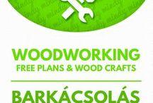 Woodworking DIY tutorials & plans / Barkácsolás fából / DIY furniture, free woodworking plans, woodworking tutorials, crafts with wood. For more craft ideas visit our site: http://www.mindy.hu/en ◄◄ ║ ►►Ötletek faanyagokból (barkácsolás). Bútorok, fa játékok és fából készült dolgok. (Ha magyarul szeretnéd látni az ötletek leírását a Mindy oldalán: a Mindy-n a menü alatti szürke sávban az oldal tetején találhatod a nyelvváltás gombot!) Még több kreatív ötlet: http://www.mindy.hu/hu