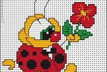 ladybugs-bees