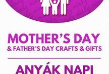 Mother's day gifts and crafts / Kreatív ötletek anyák napjára (anyák napi ajándék) / Mother's day & Fathers's day crafts: gifts & decors! For more craft tutorials visit our site: http://www.mindy.hu/en ◄◄ ║ ►► Anyák napja és apák napja ötletek: ajándékok és dekorációk (Ha magyarul szeretnéd látni az ötletek leírását a Mindy oldalán: a Mindy-n a menü alatti szürke sávban az oldal tetején találhatod a nyelvváltás gombot!) Még több kreatív ötlet: http://www.mindy.hu/hu