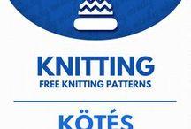 Free knitting patterns /  Ingyenes kötésminták (kötés) / All kinds of free knitting patterns. For more craft ideas visit our site: http://www.mindy.hu/en ◄◄ ║ ►► Ingyenes kötésminták mindenféle témában  (Ha magyarul szeretnéd látni az ötletek leírását a Mindy oldalán: a Mindy-n a menü alatti szürke sávban az oldal tetején találhatod a nyelvváltás gombot!) Még több kreatív ötlet: http://www.mindy.hu/hu