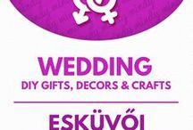 DIY Wedding decors & gifts // Esküvői ajándékok és dekorációk / DIY wedding decors and gifts! For more craft tutorials visit our site: http://www.mindy.hu/en ◄◄ ║ ►► Kreatív esküvői ötletek: dekorációk és ajándékok (Ha magyarul szeretnéd látni az ötletek leírását a Mindy oldalán: a Mindy-n a menü alatti szürke sávban az oldal tetején találhatod a nyelvváltás gombot!) Még több kreatív ötlet: http://www.mindy.hu/hu