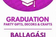 DIY Graduation party decors & gifts // Ballagási ajándékok és party dekorációk / Graduation party craft: DIY gifts and decors! For more craft tutorials visit our site: http://www.mindy.hu/en ◄◄ ║ ►► Kreatív ötletek ballagásra: ajándékok és dekorációk (Ha magyarul szeretnéd látni az ötletek leírását a Mindy oldalán: a Mindy-n a menü alatti szürke sávban az oldal tetején találhatod a nyelvváltás gombot!) Még több kreatív ötlet: http://www.mindy.hu/hu