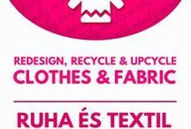 Upcycled clothing & fabric crafts // Textil újrahasznosítás / DIY Upcycled clothing & fabric crafts! For more craft ideas visit our site: http://www.mindy.hu/en ◄◄ ║ ►► Textil újrahasznosítással kapcsolatos kreatív ötletek (Ha magyarul szeretnéd látni az ötletek leírását a Mindy oldalán: a Mindy-n a menü alatti szürke sávban az oldal tetején találhatod a nyelvváltás gombot!) Még több kreatív ötlet: http://www.mindy.hu/hu